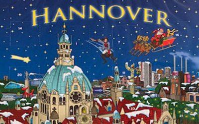 Sylvie Kollin auf dem Hannover-Adventskalender 2020