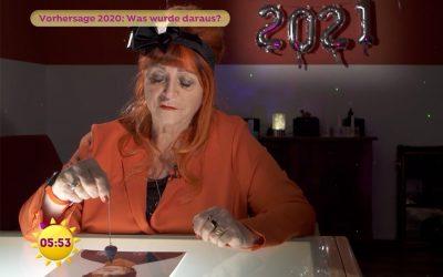 WAS WURDE AUS DER VORHERSAGE 2020? Beitrag im Sat.1 Frühstücksfernsehen